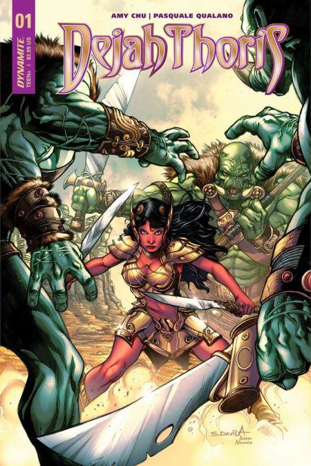 dynamite comics, comic book covers
