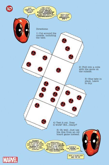 marvel comics, comic book previews, you are deadpool