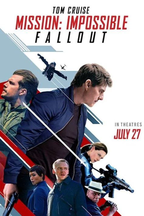 movie posters, promotional posters, paramount pictures, mission impossible fallout, mission impossible fallout posters