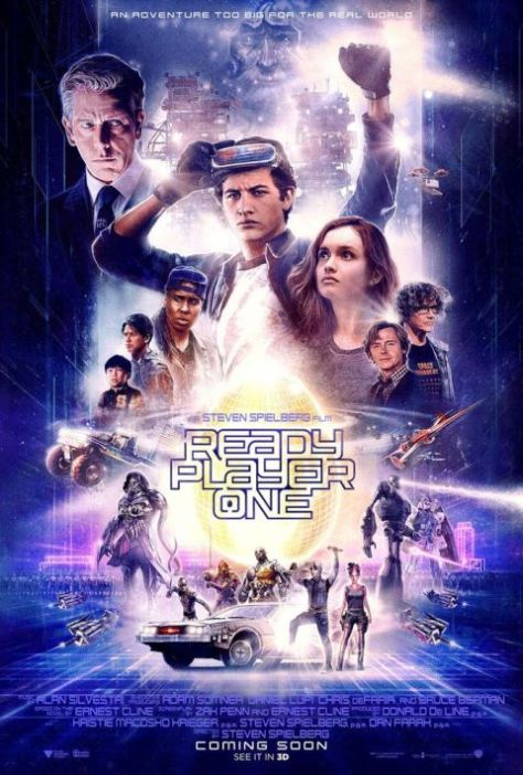 ready player one, movie posters