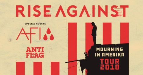 tour posters, rise against, rise against tour posters