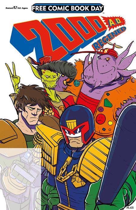 comic book covers, free comic book day 2018, free comic book day