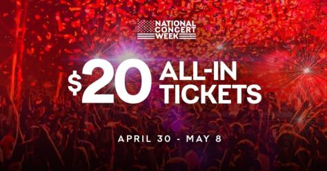livenation, national concert week