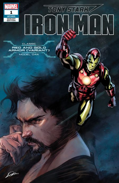 marvel comics, comic book covers, many armors of iron man, tony stark: iron man