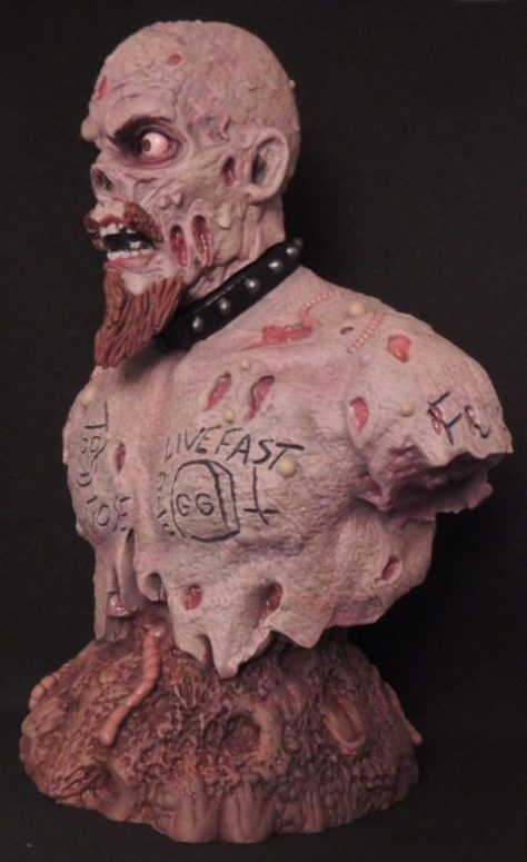 aggronautix, gg allin, resin busts