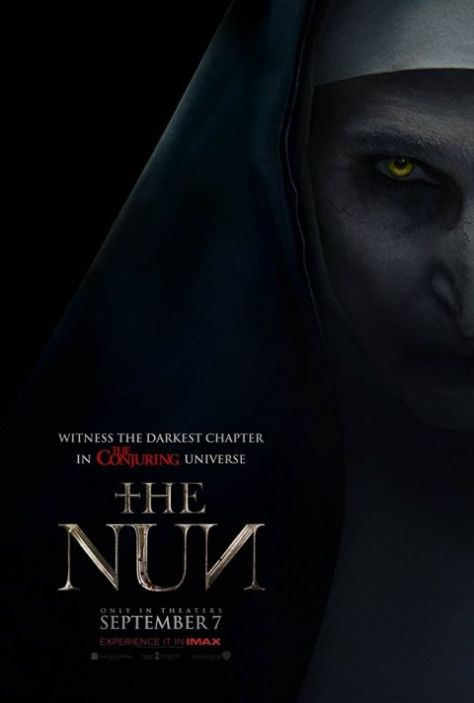 warner brothers pictures, movie posters, the nun