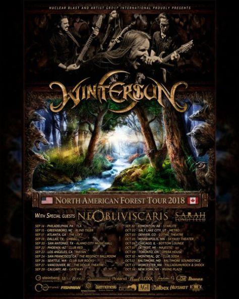 tour posters, wintersun, wintersun tour posters
