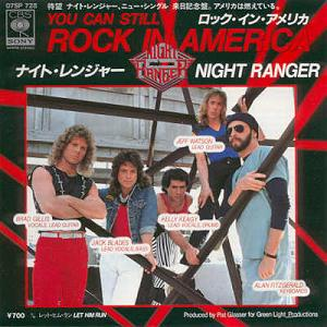 album covers, night ranger