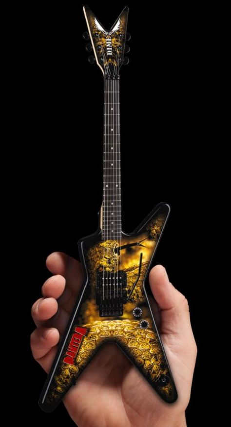 war machine marketing, pantera mini-guitars, sdcc exclusives