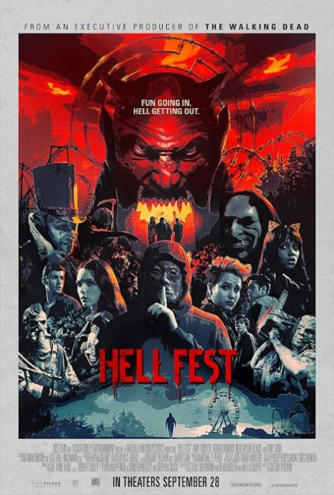 movie posters, hell fest