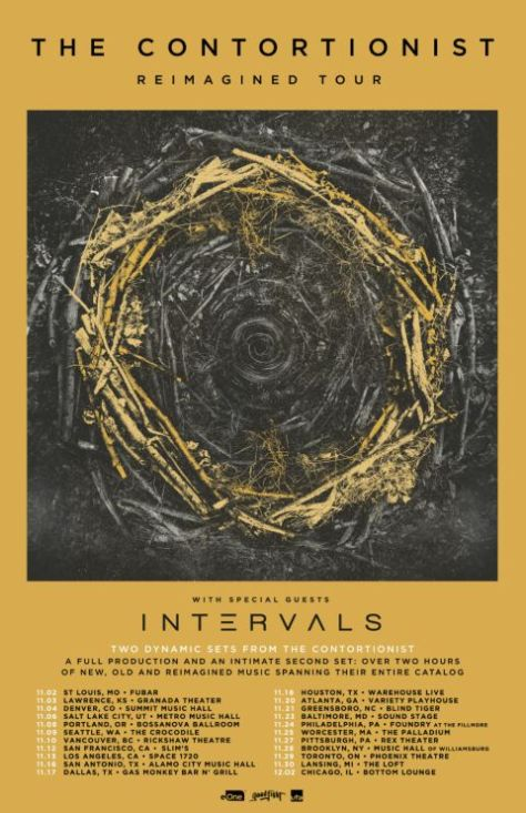tour posters, the contortionist, the contortionist tour posters