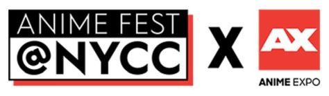 anime fest at nycc logo