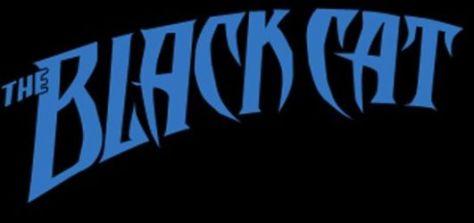 black cat logo comics