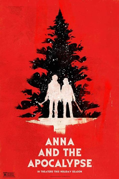movie posters, promotional posters, orion pictures, anna and the apocalypse