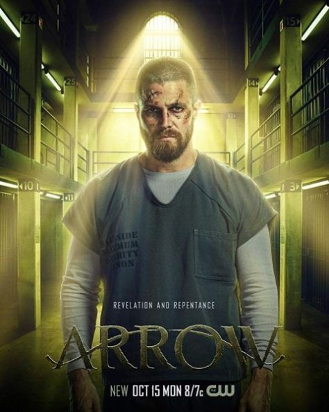television posters, warner brothers television, arrow