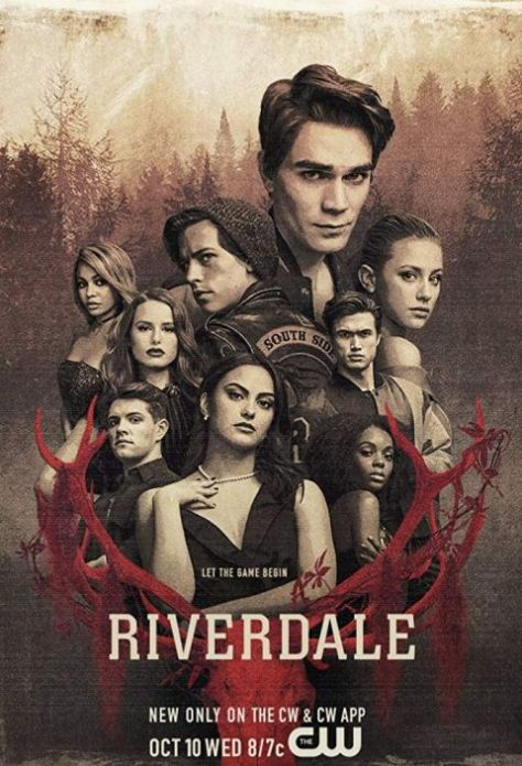 television posters, riverdale, the cw network