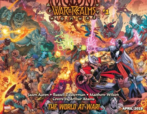 comic book covers, marvel comics, marvel entertainment, war of the realms