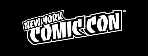 new york comic con logo - bw