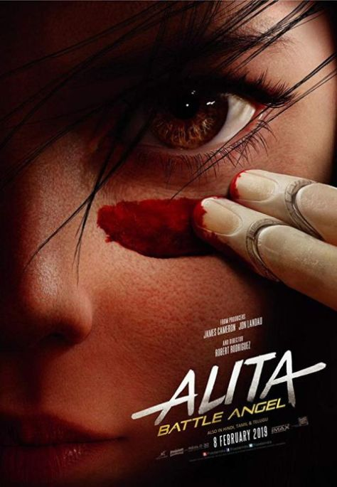 movie posters, 20th century fox, alita battle angel, promotional posters