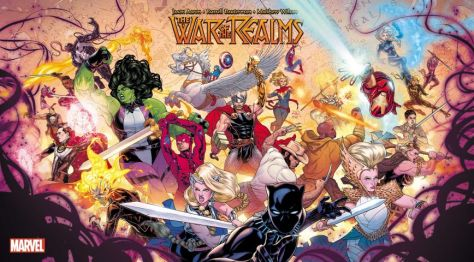 promotional posters, marvel comics, marvel entertainment, war of the realms