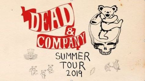 tour posters, dead and company, dead and company tour posters