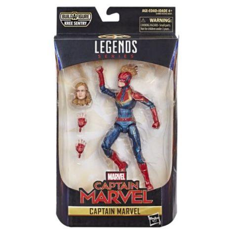 hasbro, hasbro toys, marvel legends series, action figures, captain marvel, captain marvel toys