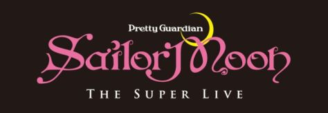 pretty guardian sailor moon the super live logo