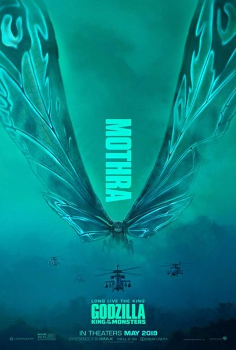 movie posters, promotional posters, legendary pictures, godzilla king of the monsters