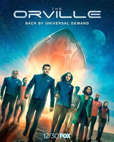 television posters, the orville, the orville posters