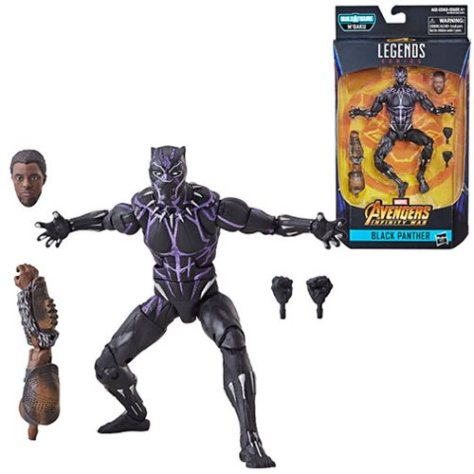 hasbro toys, marvel legends series, build-a-figure, black panther action figures, hasbro action figures