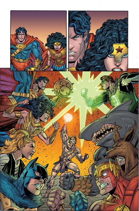 comic book pages, dc comics, dc entertainment, dc primal age