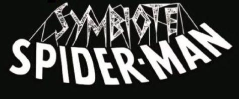 symbiote spider-man comics logo