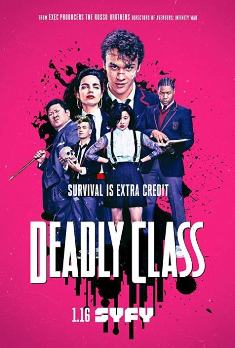 television posters, sony pictures television, deadly class