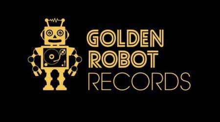 golden robot records logo