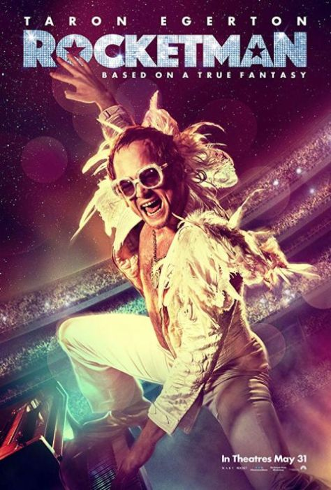 movie posters, promotional posters, paramount pictures, rocketman, sir elton john