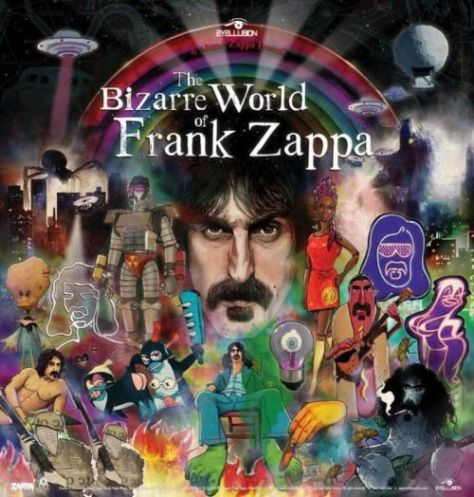 tour posters, frank zappa hologram, frank zappa hologram posters