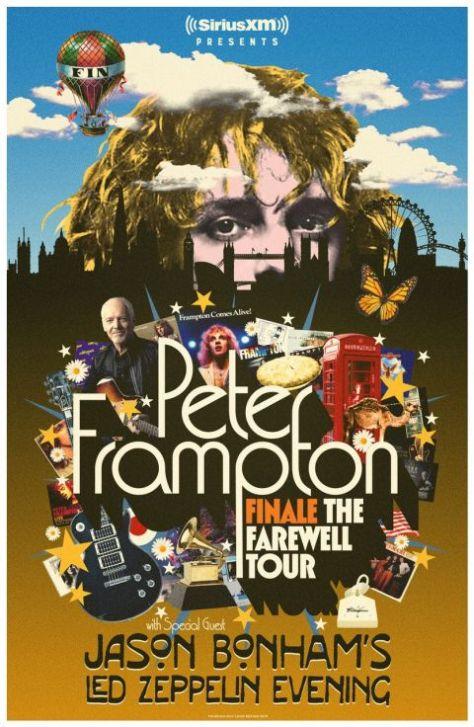 tour posters, peter frampton, peter frampton tour posters