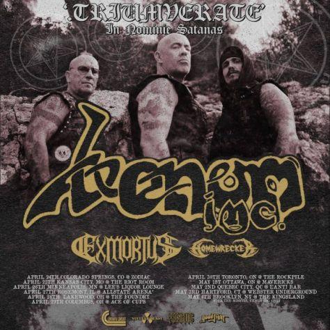 tour posters, venom inc, nuclear blast records artists, venom inc posters