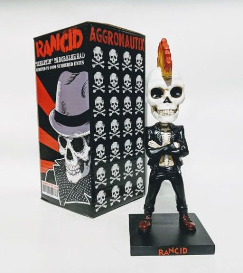 aggronautix, rancid skeletim, throbblehead
