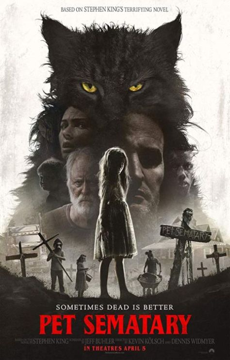 movie posters, promotional posters, paramount pictures, pet sematary