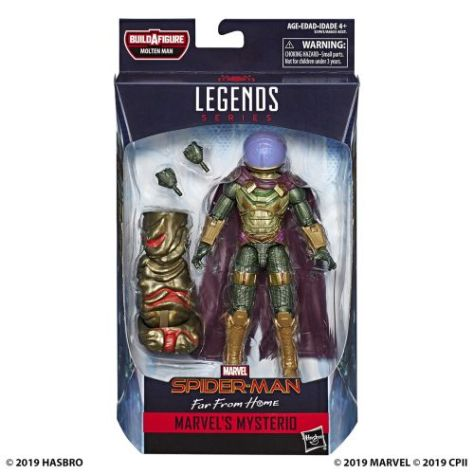 hasbro toys, hasbro, spider-man legends series, action figures