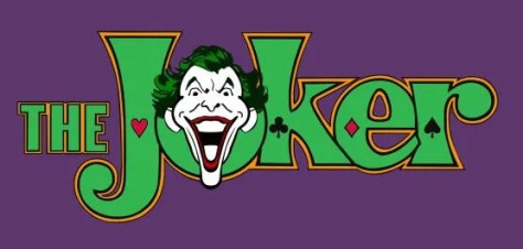 joker logo comics