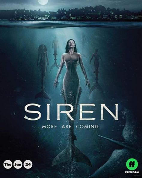 television posters, siren posters, freeform
