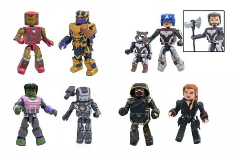 diamond select toys, minimates