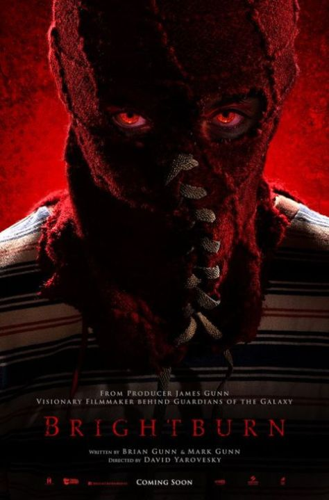 movie posters, promotional posters, brightburn