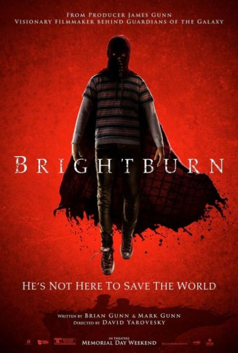 movie posters, promotional posters, sony pictures, brightburn