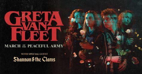 tour posters, greta van fleet, greta van fleet tour posters