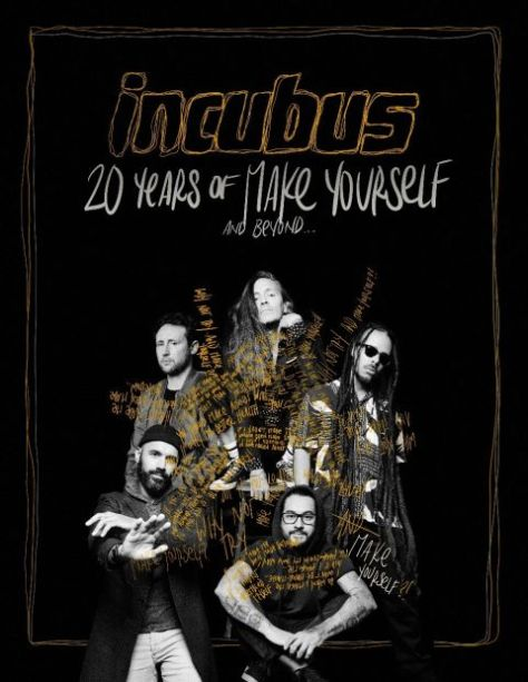 tour posters, incubus, incubus tour posters, sony music artists