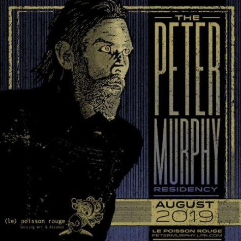 tour posters, peter murphy, peter murphy tour posters