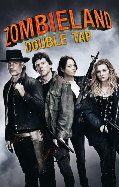 movie posters, promotional posters, sony pictures, zombieland: double tap